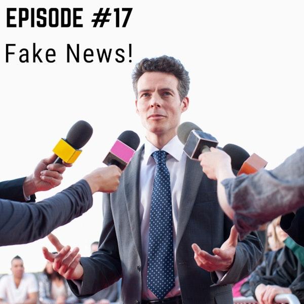 Stuttering & Fake News Image