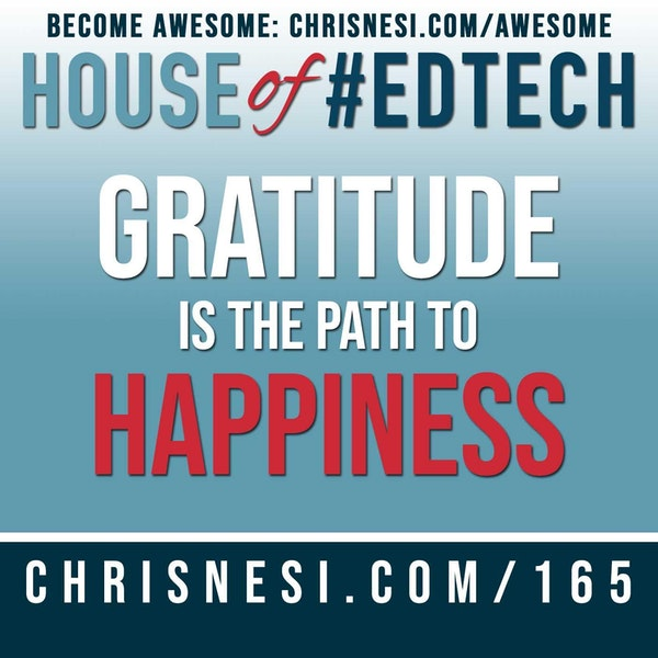 Gratitude is the Path to Happiness - HoET165 Image
