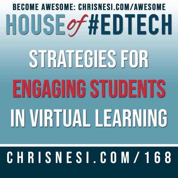 Strategies for Engaging Students in Virtual Learning - HoET168 Image