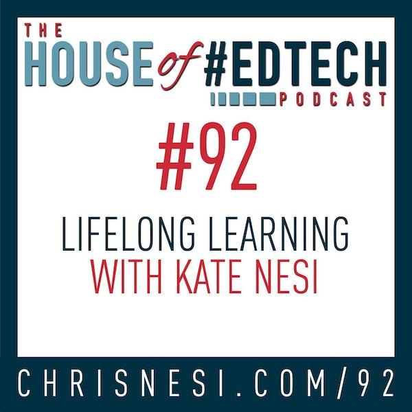 Lifelong Learning with Kate Nesi - HoET092 Image