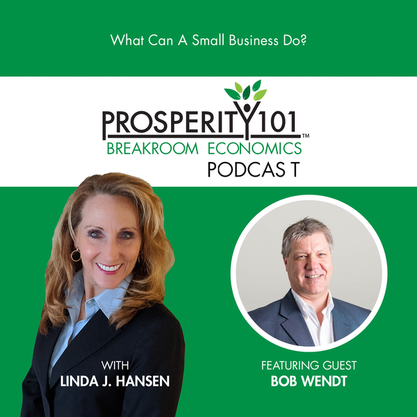 What Can A Small Business Do? – with Bob Wendt