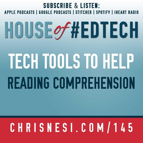 Tech Tools to Help Improve Reading Comprehension - HoET145 Image
