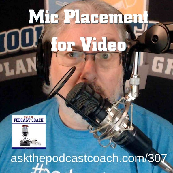 Microphone Placement in a Video