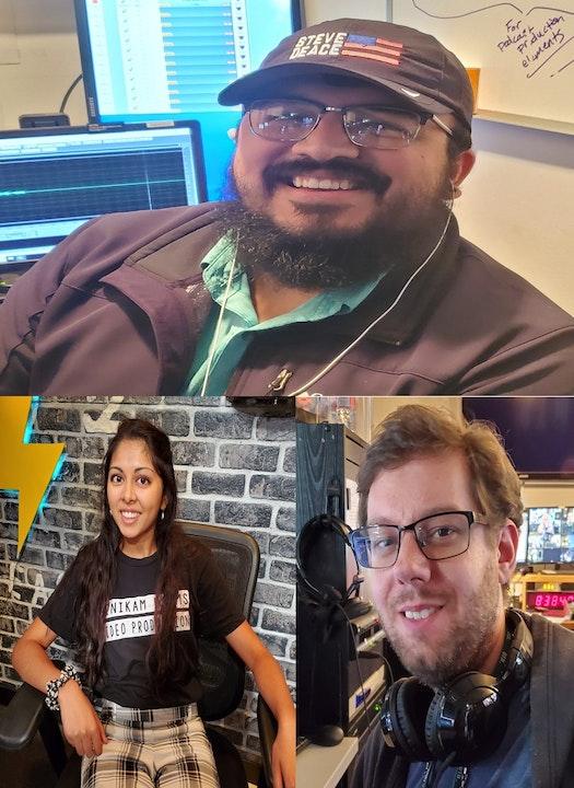 At The Mic (with Keith) - Episode 26 - Guests: Martin Garcia, Priyanka Shah and Daniel Boling (08/28/20) Image
