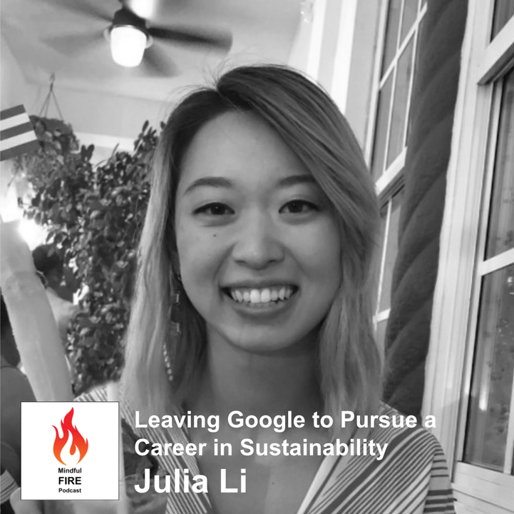 Episode image for 15 : Leaving Google For a Career In Sustainability and a 3 Month Break with Julia Li (Part 1)