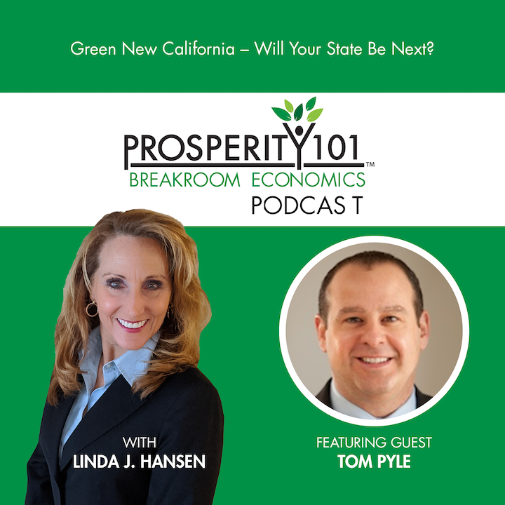 Green New California – Will Your State Be Next? – with Tom Pyle