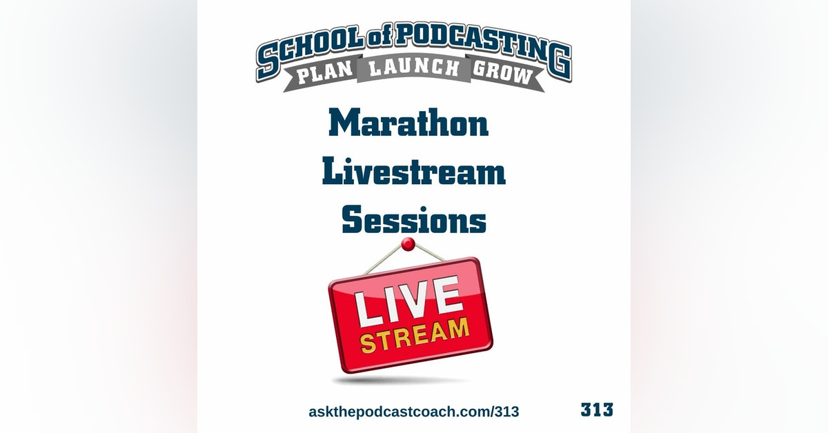 Marathon Livestream Sessions