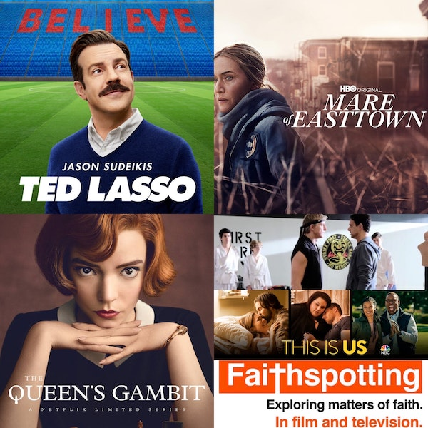 Faithspotting Ted Lasso, The Queen's Gambit, Mare of Eastown, and Emmy Talk Image