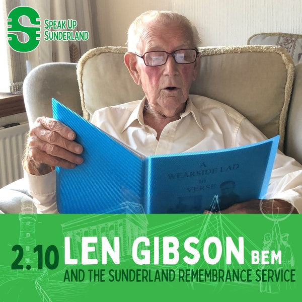 Len Gibson and the Sunderland Remembrance Service Image