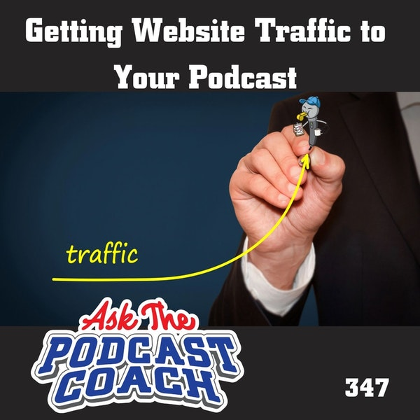 Getting Website Traffic to  Your Podcast