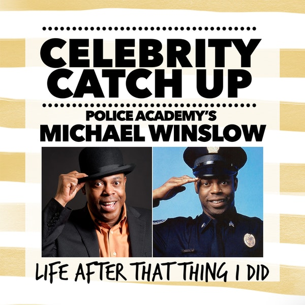 Michael Winslow - aka Police Academy's man of 10,000 noises
