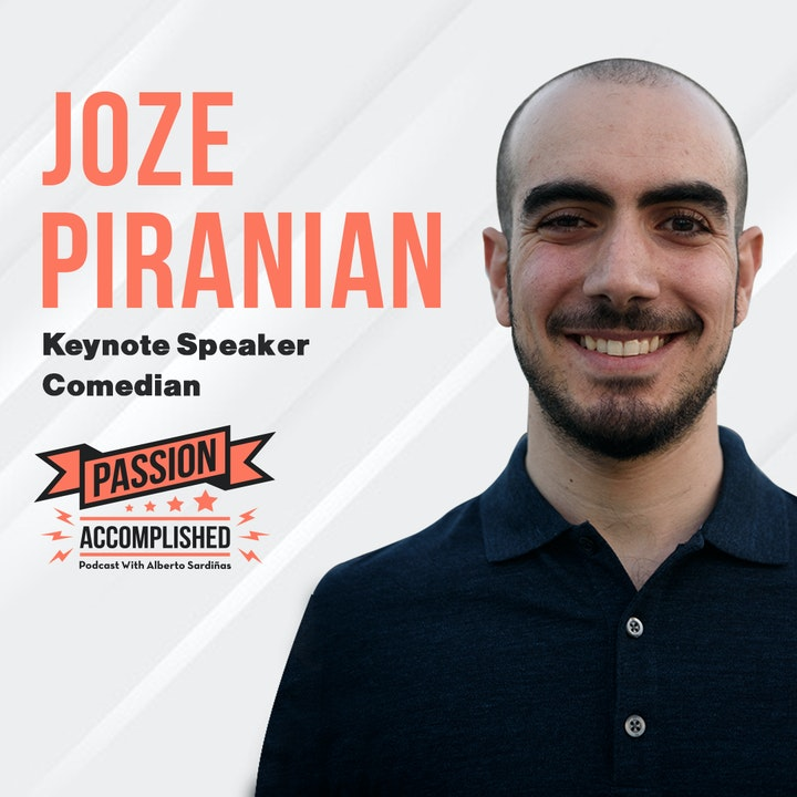 A stutter turned into strength with Joze Piranian