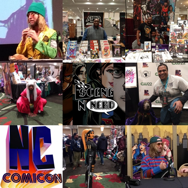 SNN: Will goes to NC Comicon 2019
