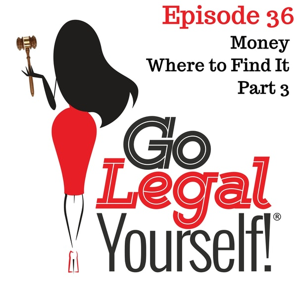 Ep. 36 Money. Where to Find It Part 3