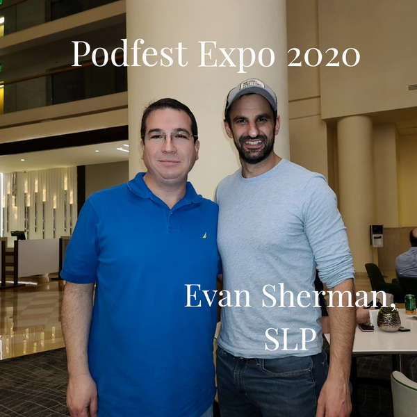 My Pecha Kucha Presentation and Continuing the Conversation With Evan Sherman, SLP Image