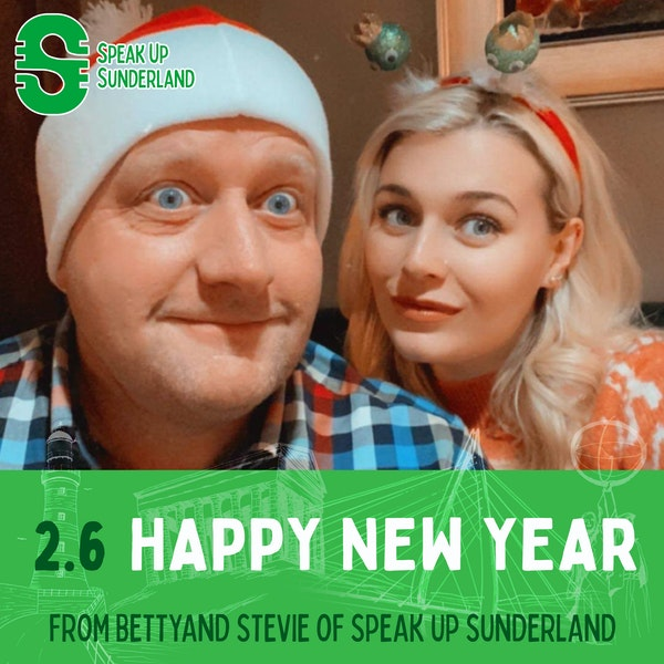 Happy New Year from Betty & Stevie Image