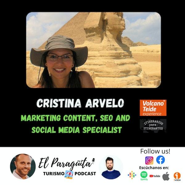 T2 Ep.9: CRISTINA ARVELO: Marketing Content, SEO and Social Media Specialist