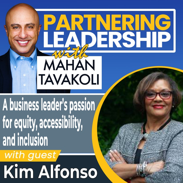 A business leader's passion for equity, accessibility, and inclusion with Kim Alfonso    Greater Washington DC DMV Changemaker