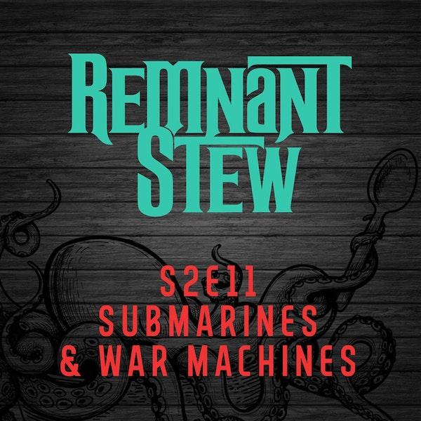 SUBMARINES & WAR MACHINES Image