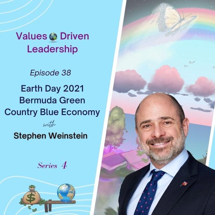 Earth Day 2021 Bermuda Green Country Blue Economy   Stephen Weinstein