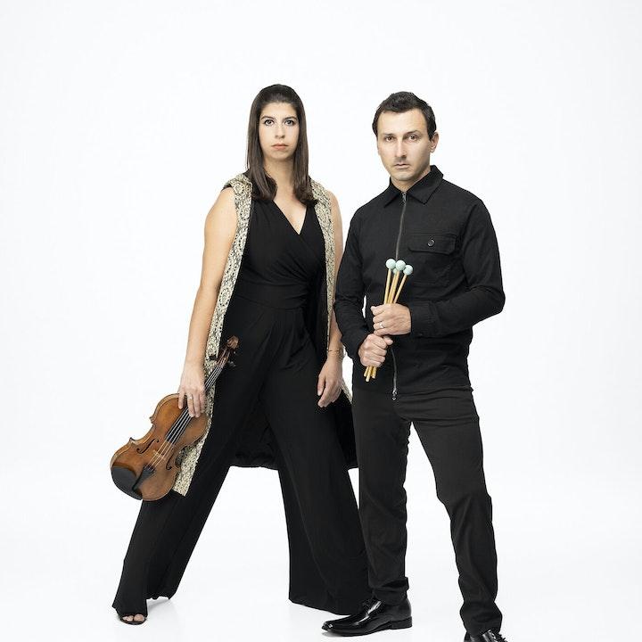 George Nickson and Samantha Bennett of Ensemble New SRQ Join the Club