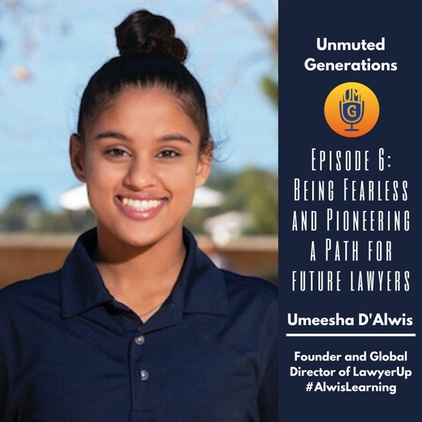 Umeesha D'Alwis - Being Fearless and Pioneering a Path for Future Lawyers Image