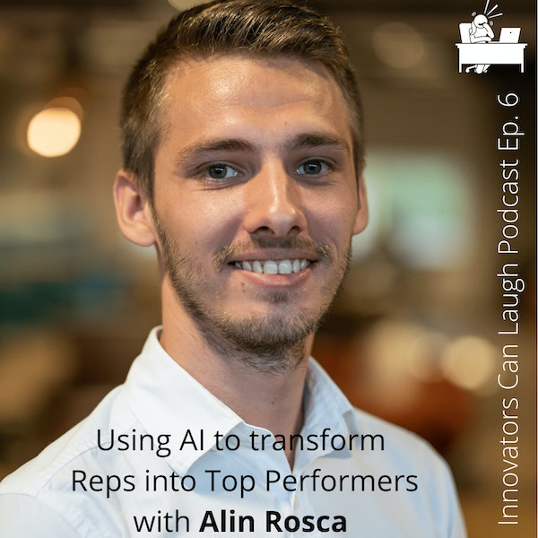 From appearing in Jean Claude Van Damme movies as a child to creating an AI platform that helps teams converse better with customers - Alin Rosca (#6) Image