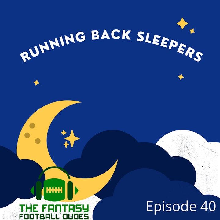 Sleeper Running Backs