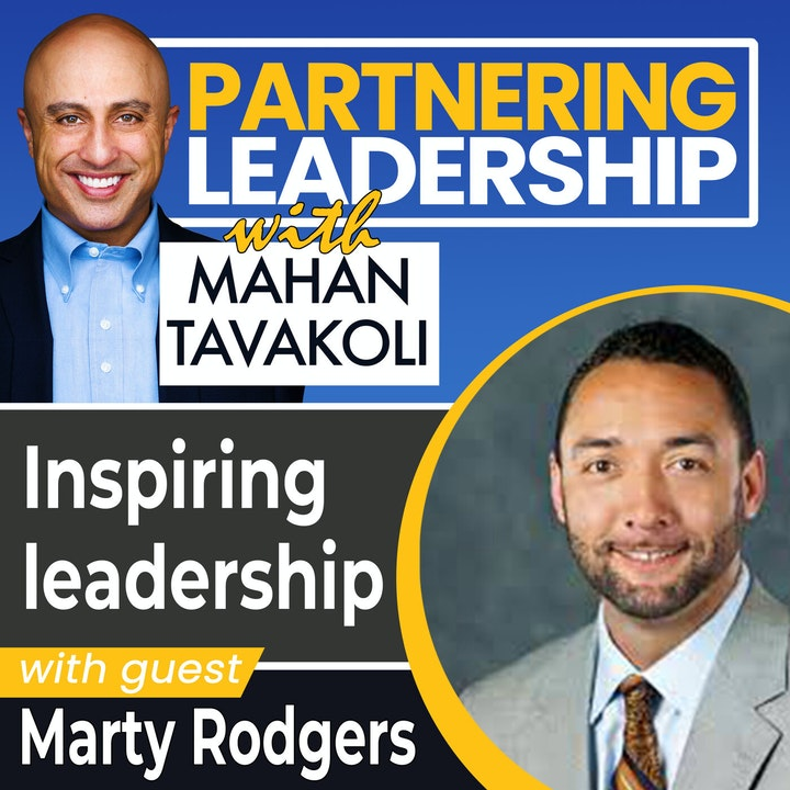 Inspiring leadership with Accenture's Marty Rodgers   Greater Washington DC DMV Changemaker