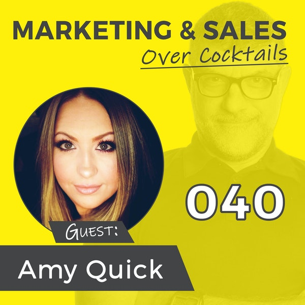 040: Have You Created Your Personal Brand on LinkedIn? with AMY QUICK Image