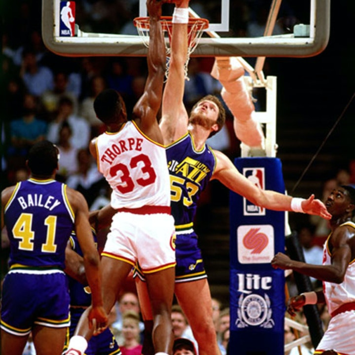 Mark Eaton: Utah Jazz great, two-time Defensive Player of the Year and NBA All-Star - AIR049