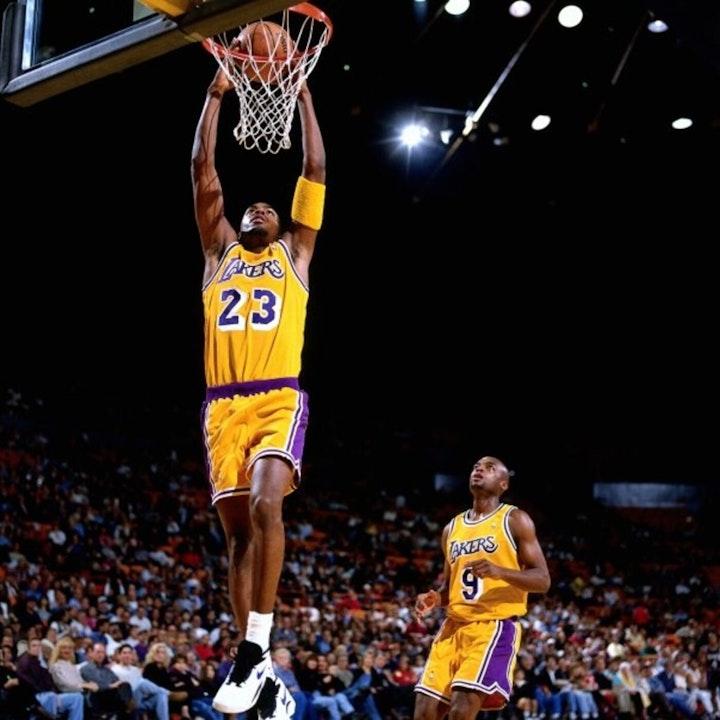 Cedric Ceballos: NBA All-Star, 11-year veteran & slam dunk champion - AIR059