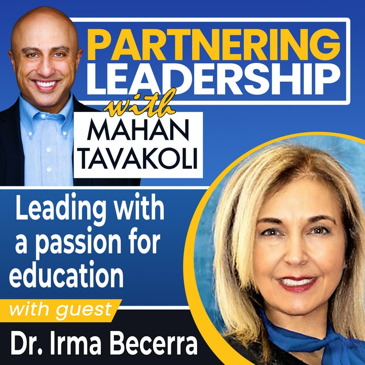 Leading with a passion for education with Dr. Irma Becerra | Greater Washington DC DMV Changemaker