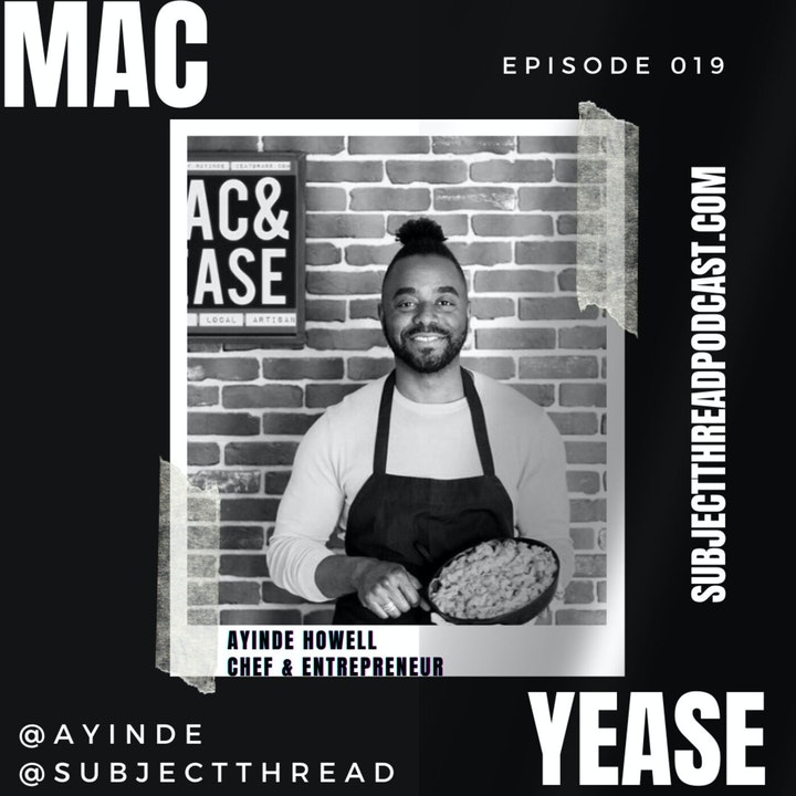 Acting, Veganism and Mac & Yease With Ayinde Full Episode 019