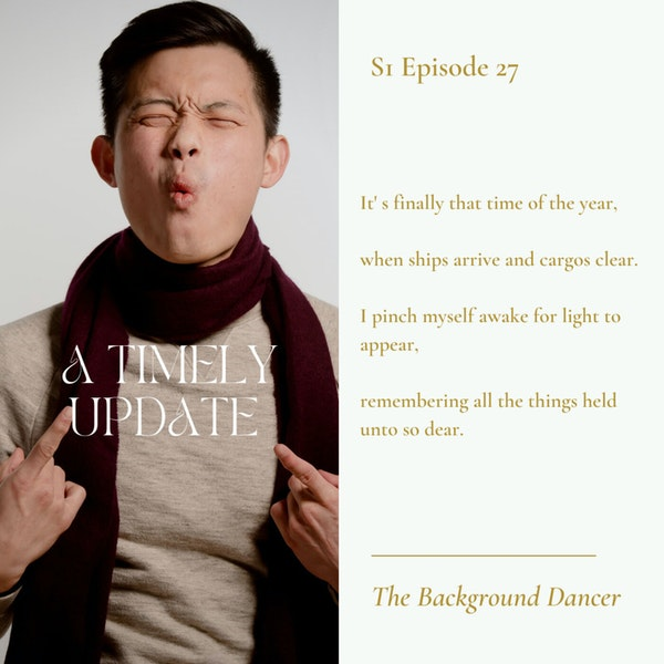 A Timely Update   Jason Yap