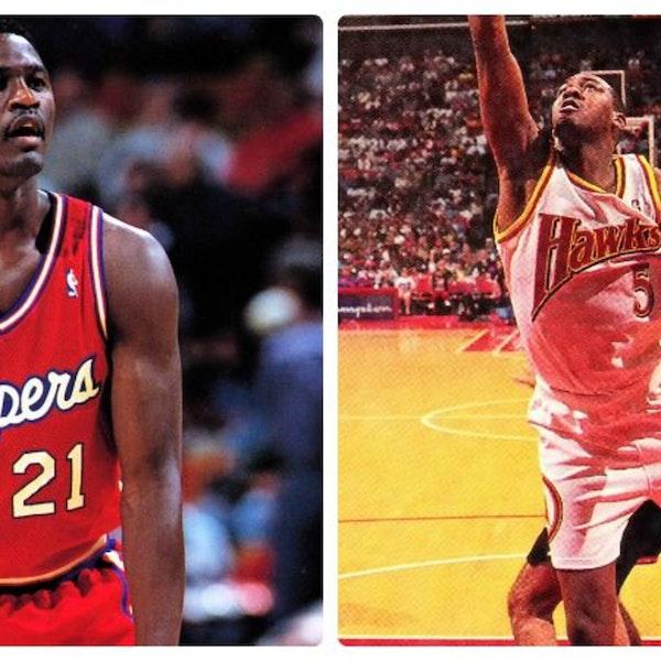 Memorable NBA Games: Dominique Wilkins returns to Atlanta (Mar 25, 1994) - Clippers at Hawks - AIR060 Image