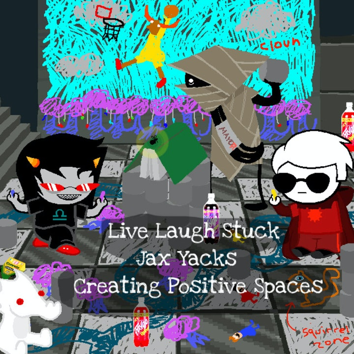 Jax Yacks: Creating Positive Spaces
