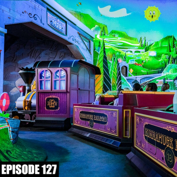Mickey & Minnie's Runaway Railway Media Day Image