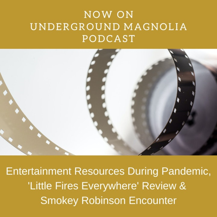 Entertainment Resources During Pandemic, Little Fires Everywhere Review & Smokey Robinson Encounter