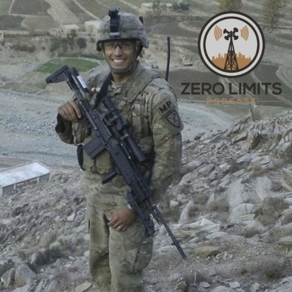 Ep. 20 Sean Ambriz US Army Military Police - Author Ghosts of the Valley Image