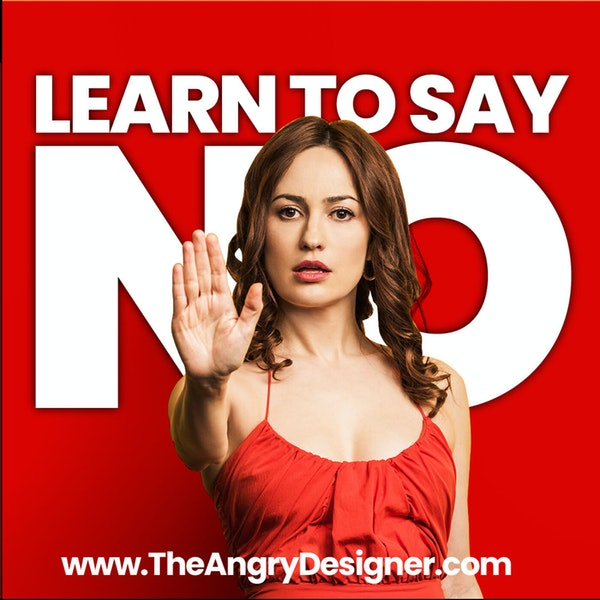 Learn how to say NO the right way and still be a hero for it! No leads to success. Image