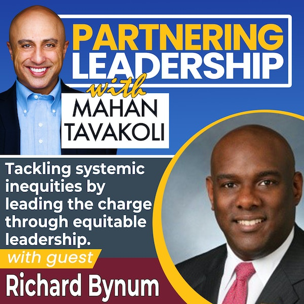 Tackling systemic inequities by leading the charge with Richard Bynum   Greater Washington DC DMV Changemaker Image
