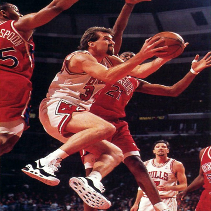 Bill Wennington: Three-time NBA Champion (Chicago Bulls) - AIR001