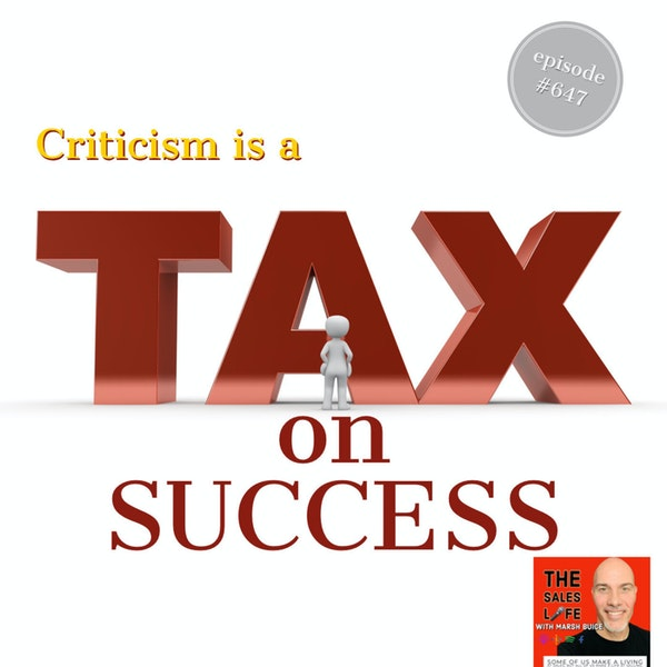 """""""Criticism is the tax you pay on success."""" Change your relationship with success. Featuring NBA Champion Chris Bosh Image"""