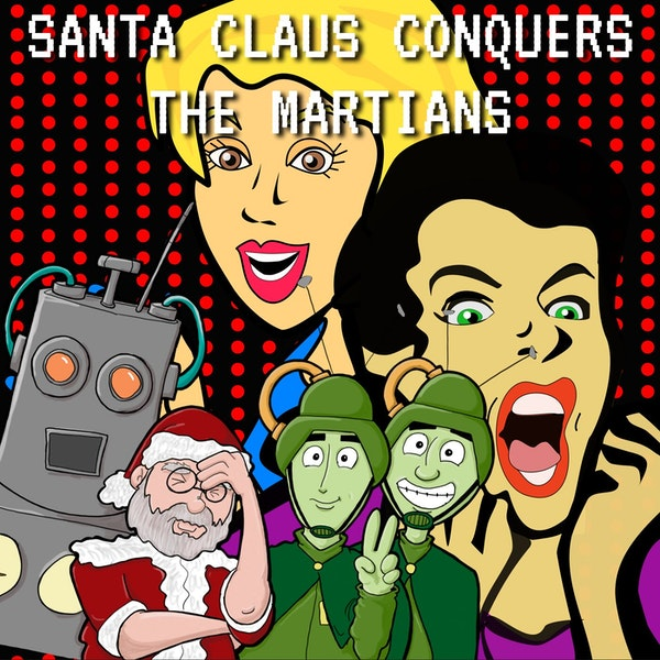 Shocked Talk: Santa Claus Conquers the Martians Image