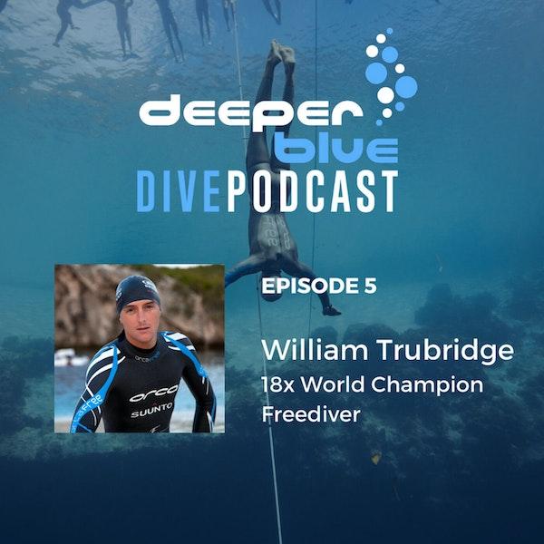 18x World Champion Freediving Legend William Trubridge, and Hollywood Freedive Trainer Kirk Krack Image
