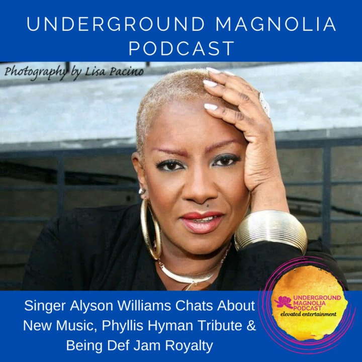 Singer Alyson Williams Chats About New Music, Phyllis Hyman Tribute & Being Def Jam Royalty
