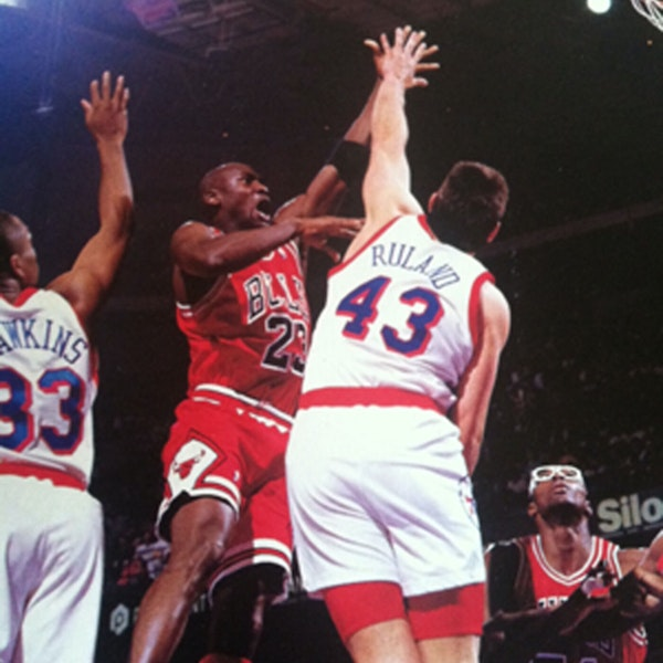 Jeff Ruland: High School All-American, NCAA great and NBA All-Star - AIR045 Image