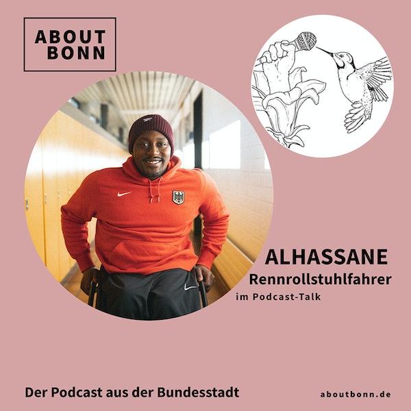 Wie bereitest du dich auf die Paralympischen Spiele vor, Alhassane?