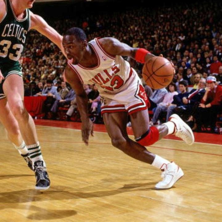 Michael Jordan's third NBA season - 1987 Playoffs through Finals - NB87-13